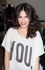 Erin Sanders At Girl Scout Cookie Championship Giveaway In Los Angeles