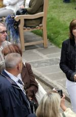 Fiona Bruce At Antiques Roadshow