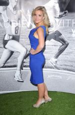 Helen Skelton At An Audience With Mo Fundraiser At The Royal Garden Hotel In London