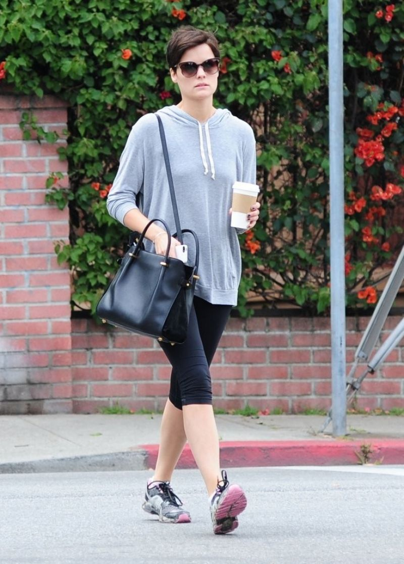 Jaimie Alexander Out And About In West Hollywood