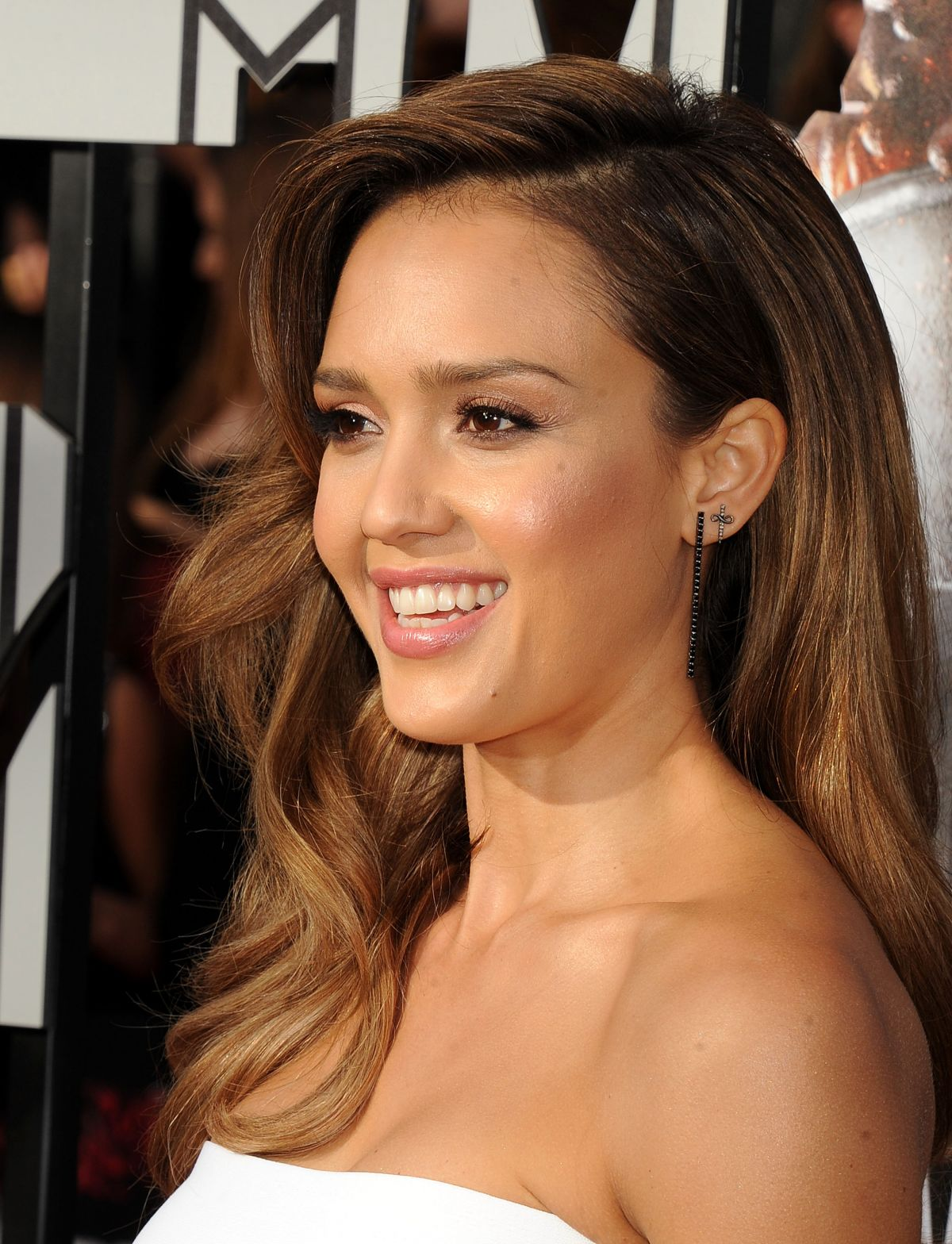 Jessica Alba At MTV Mo...