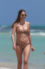 Julie Gonzalo Wearing A Bikini At Miami Beach