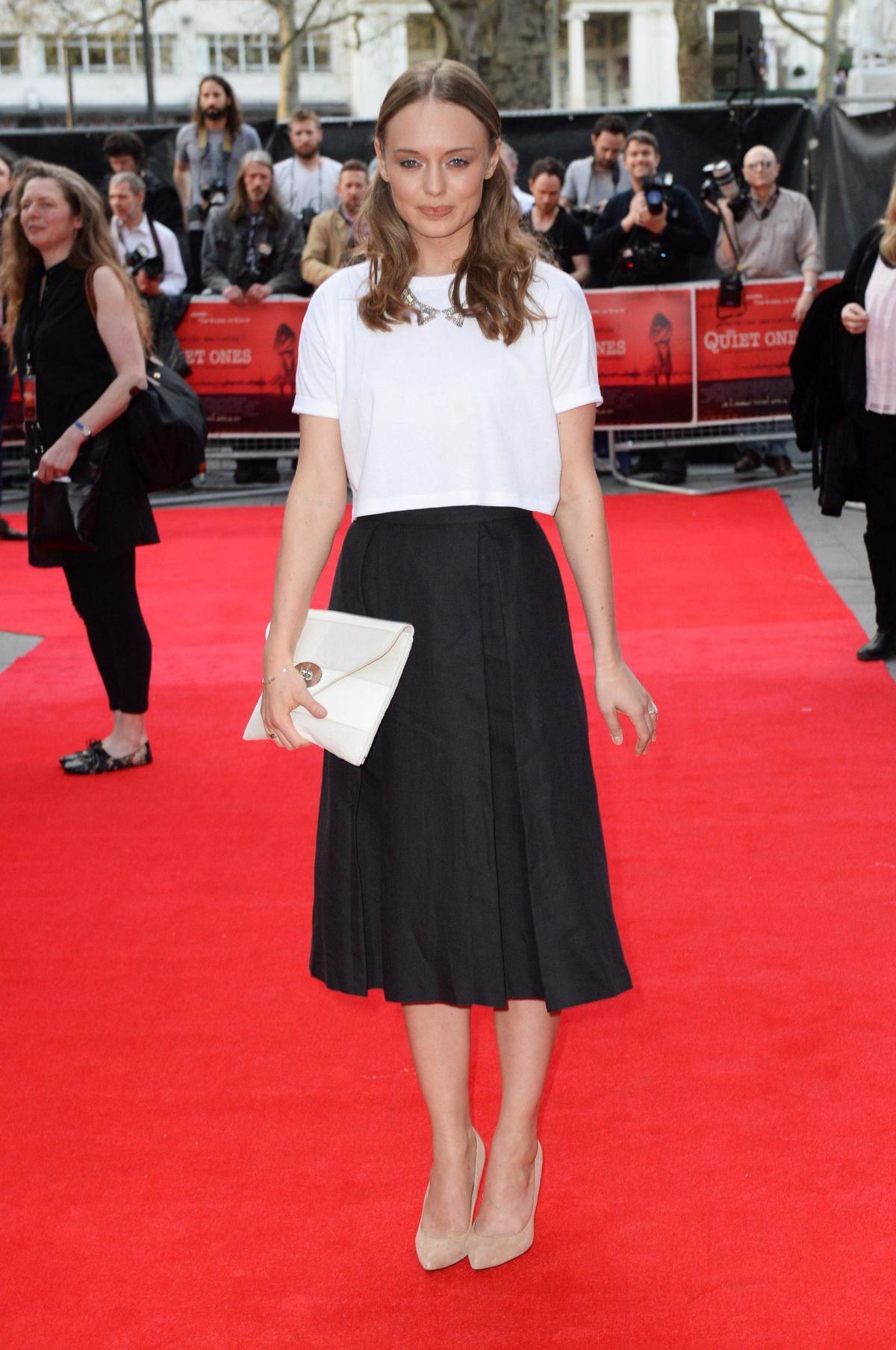 Laura Haddock At World Premiere Of
