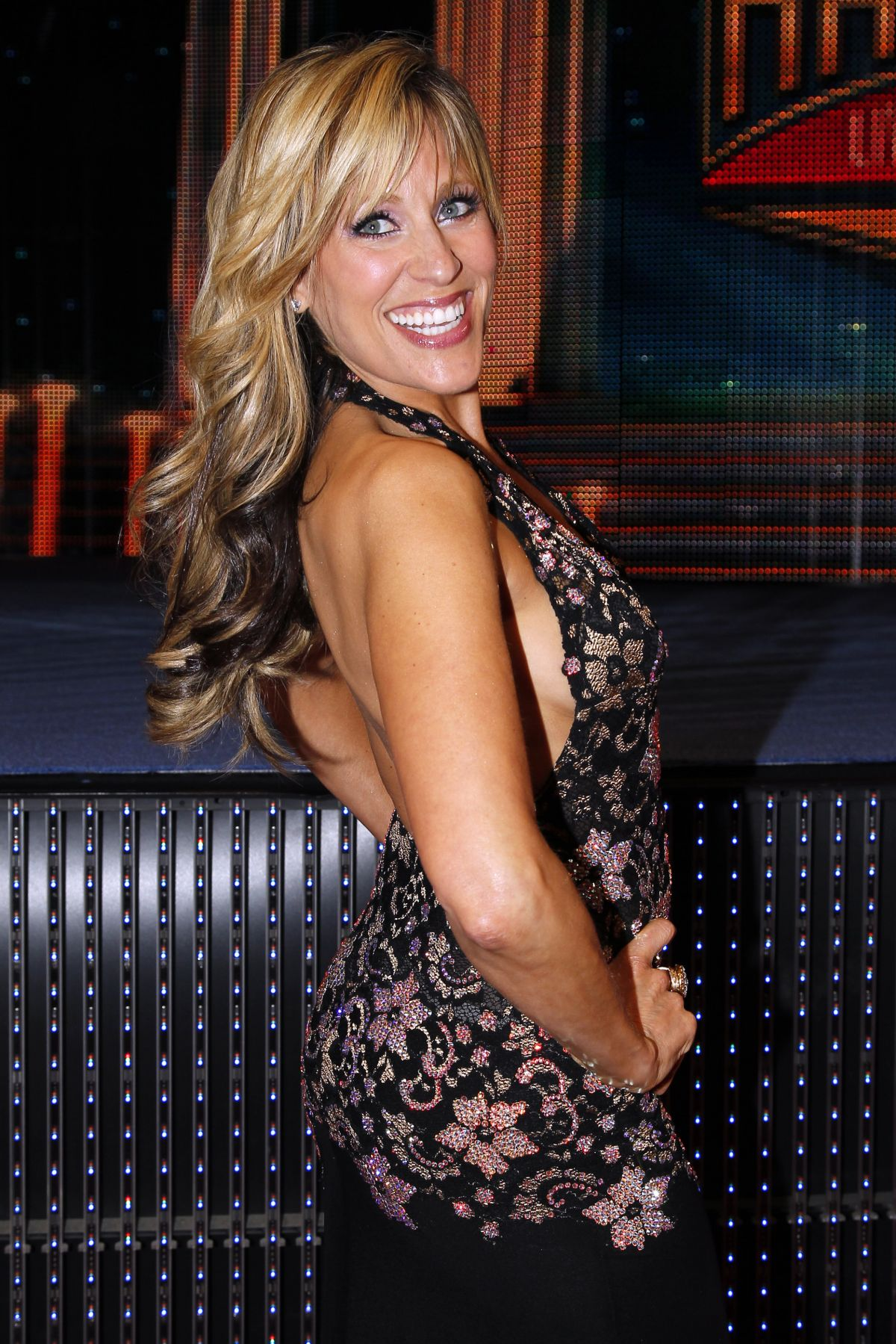 Lilian Garcia At WWE Hall of Fame Induction Ceremony