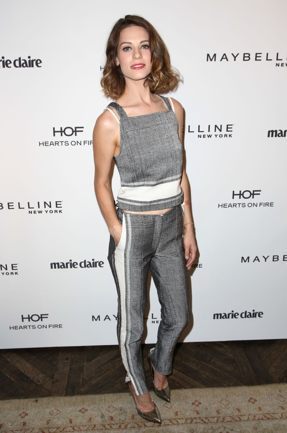 Lyndsy Fonseca At Marie Claire Celebrates May Cover Stars In West Hollywood