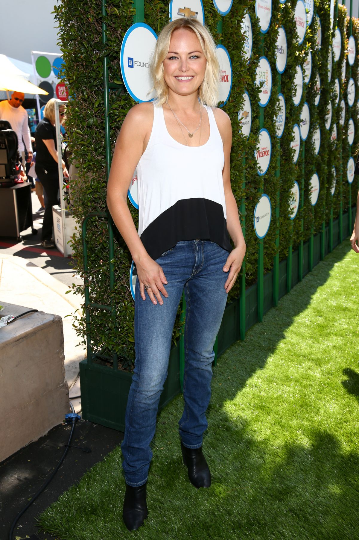 Malin Akerman At Safe Kids Day In West Hollywood