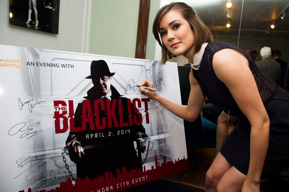 Megan Boone At An Evening With The Blacklist In NY