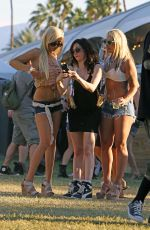Rose McGowan Out And About At Coachella