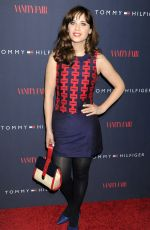 Zooey Deschanel At Vanity Fair Celebrate To Tommy From Zooey Collaboration