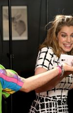 Anna Chlumsky At Variety Studio Panel Sponsored By Samsung In West Hollywood