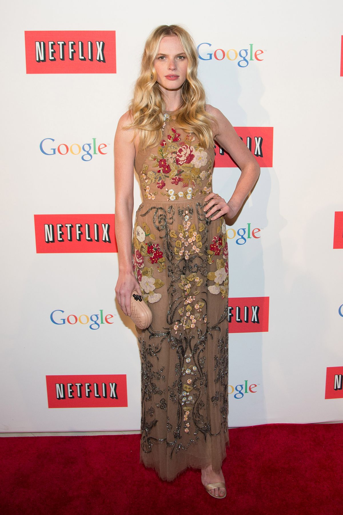 Anne Vyalitsyna At The Hill And Entertainment Tonight Celebrate