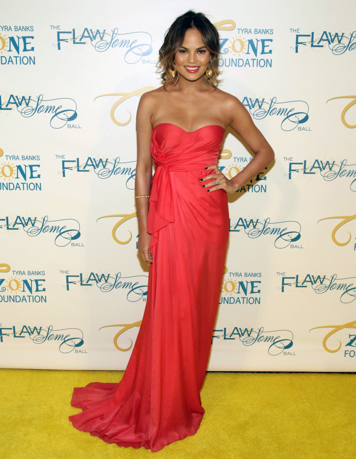 Chrissy Teigen At The Flawsome Ball