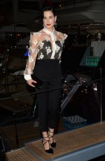 Dita Von Teese At Roberto Cavalli Hosts Annual Party Aboard His Yacht At The 67th Annual Cannes Film Festival