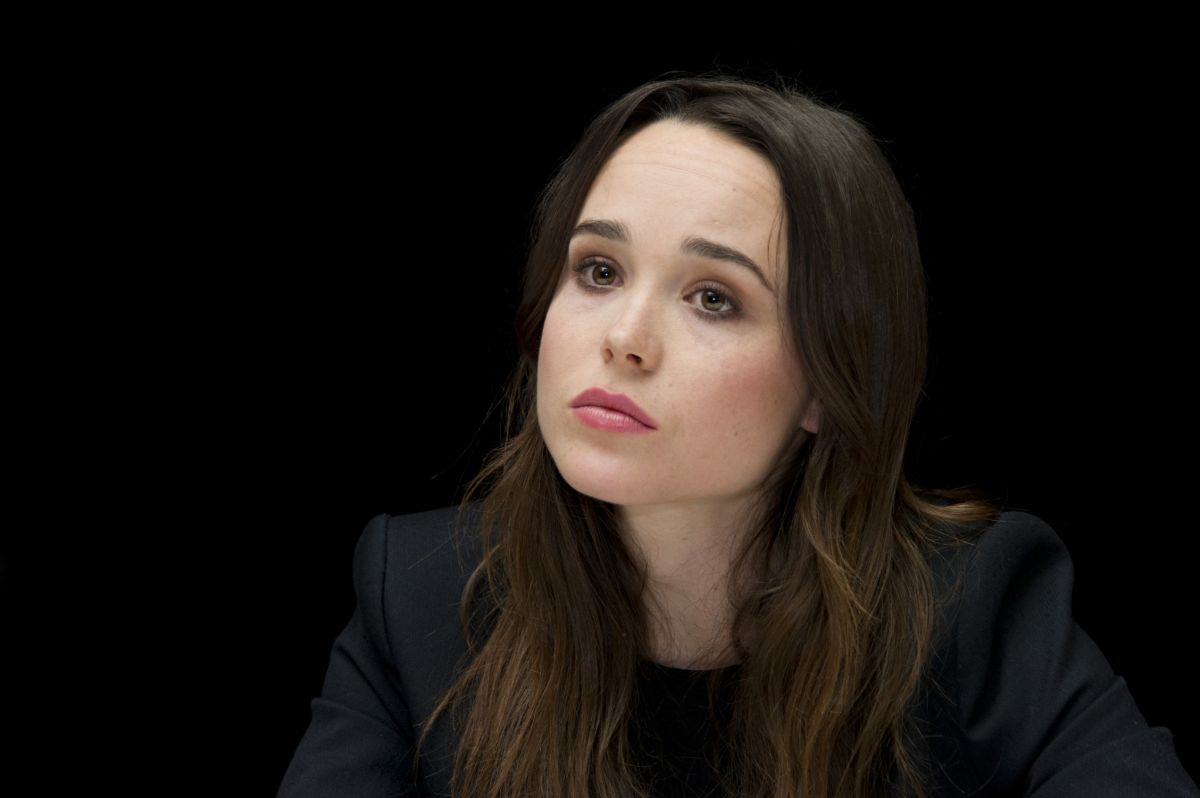 Ellen Page At X-Men Days Of Future Past Press Conference ...