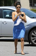 Eva Longoria Out In Los Angeles