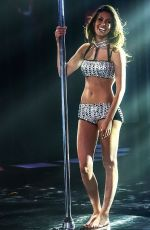 Federica Nargi At Pole Dance Competition