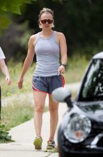 Kaley Cuoco Out For A Hike In LA