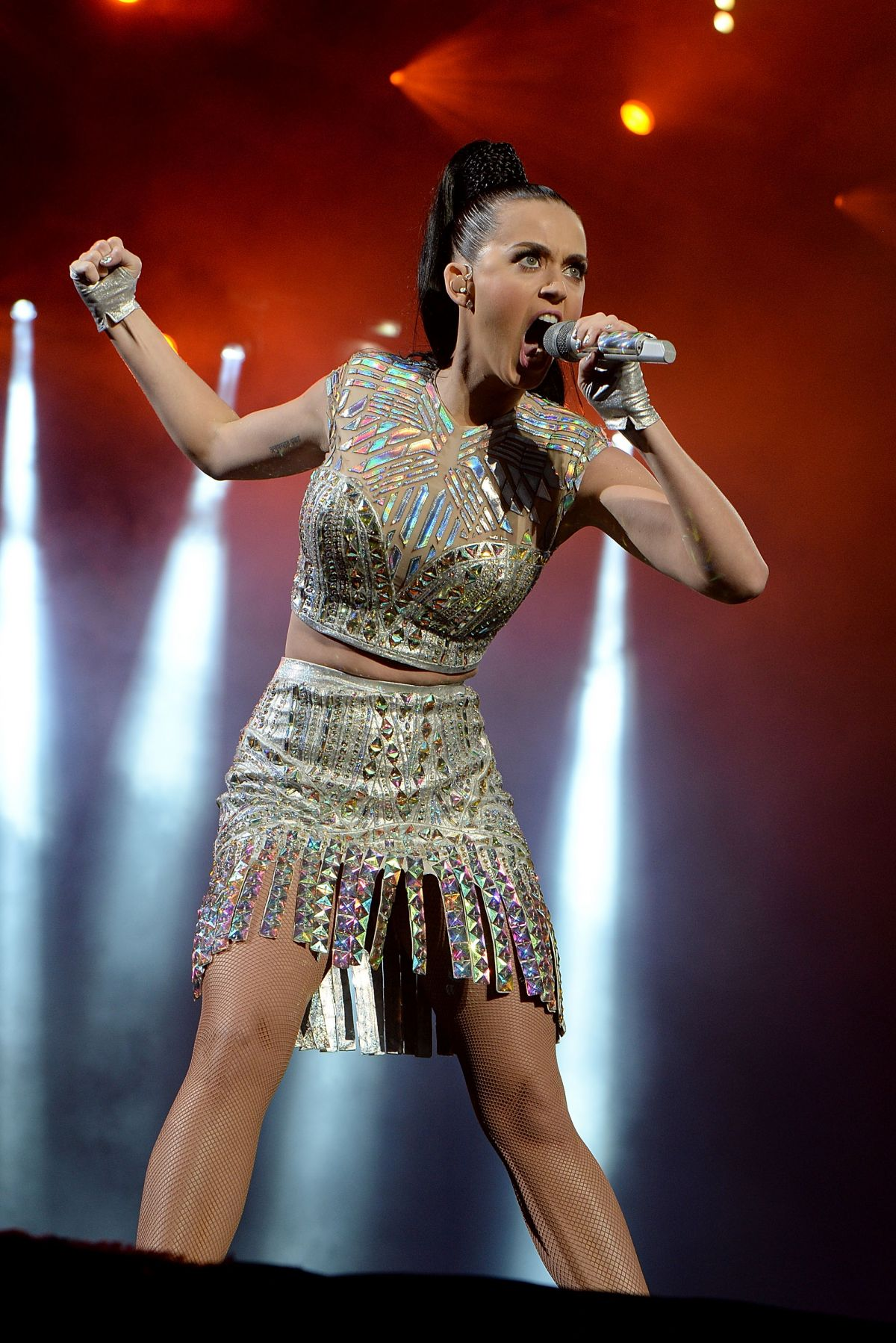 Katy Perry At Live Performance At Radio 1′s Big Weekend At Glasgow Green