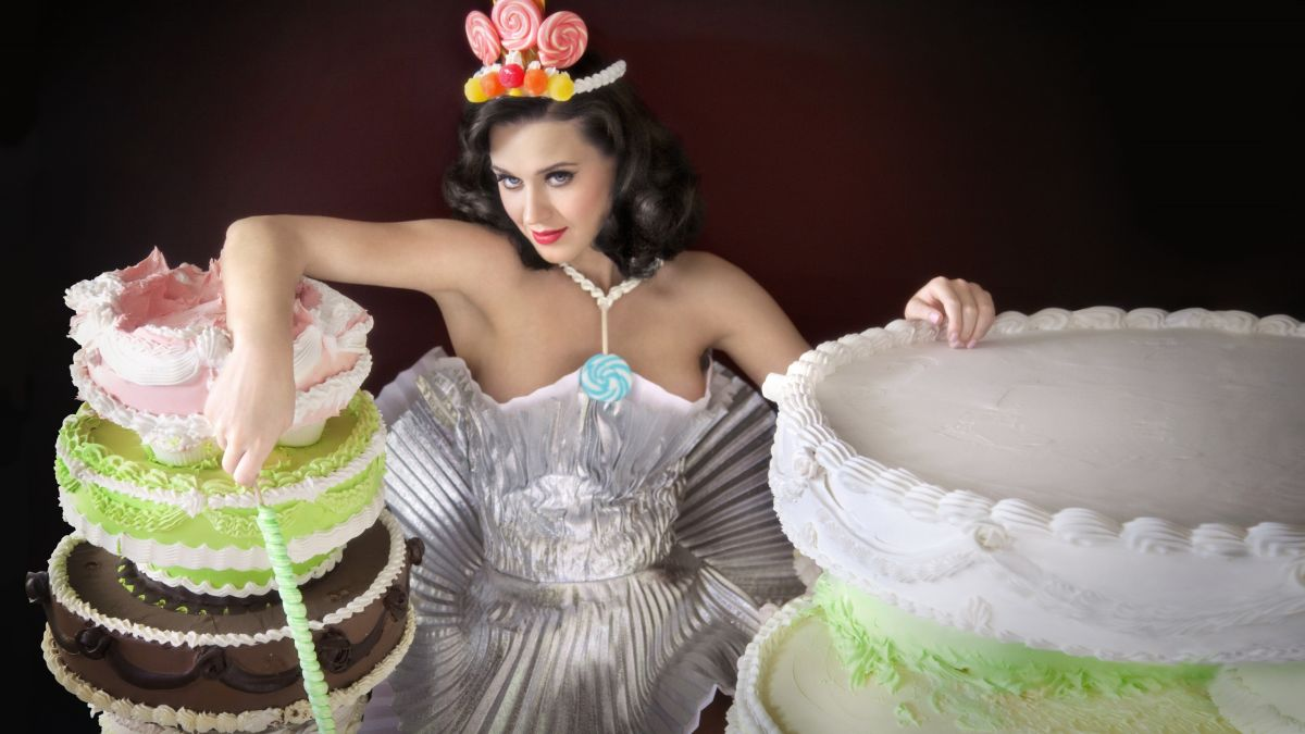 Katy Perry Cupcake Wrapper Dress