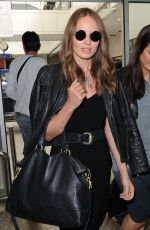 Laura Haddock Arrives At Nice Airport For 67th Annual Cannes Film Festival