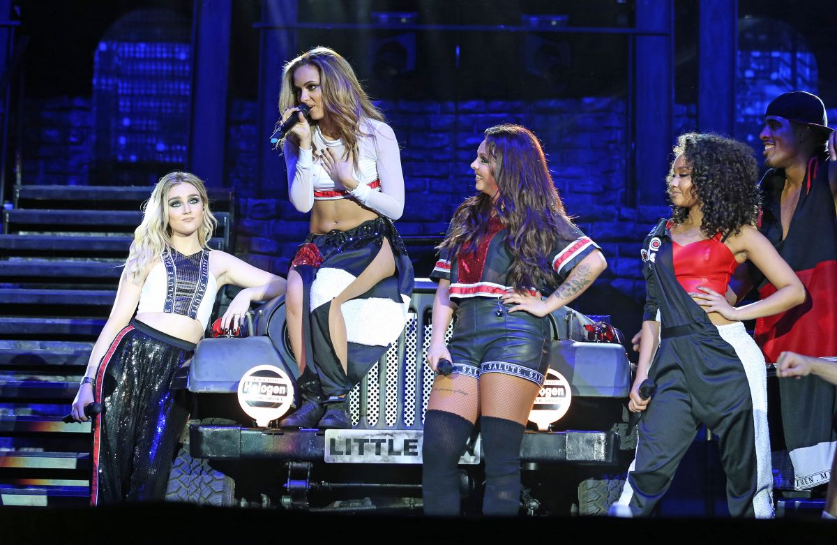 Little Mix Salute Tour Little Mix At Salute Tour LG