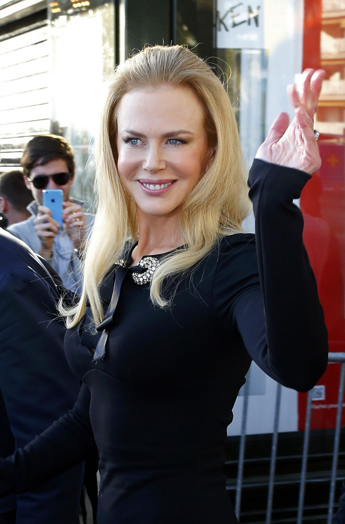 Nicole Kidman At Grand Journal de Canal+ Television Studio