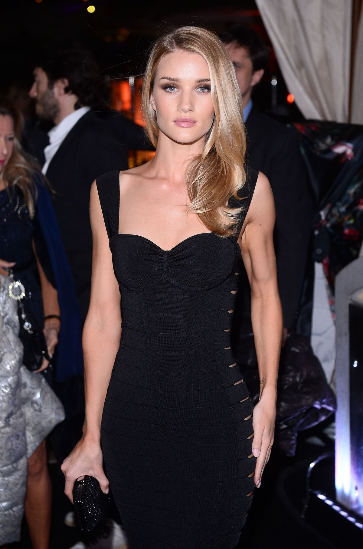 defcb14f6ee63 Rosie Huntington-Whiteley At The Roberto Cavalli Yacht Party In Cannes