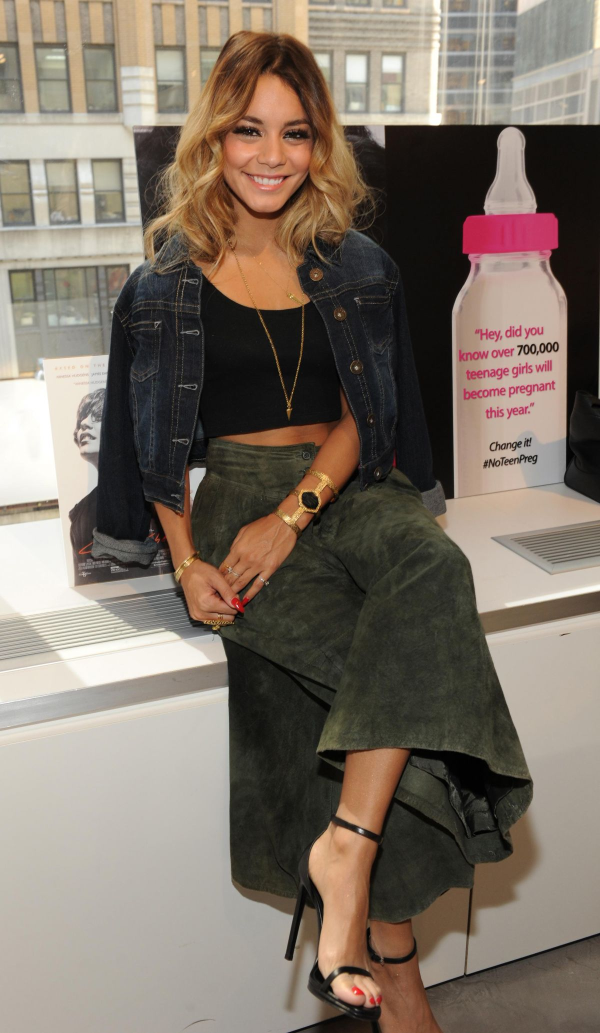 Vanessa Hudgens Honored By The Candie