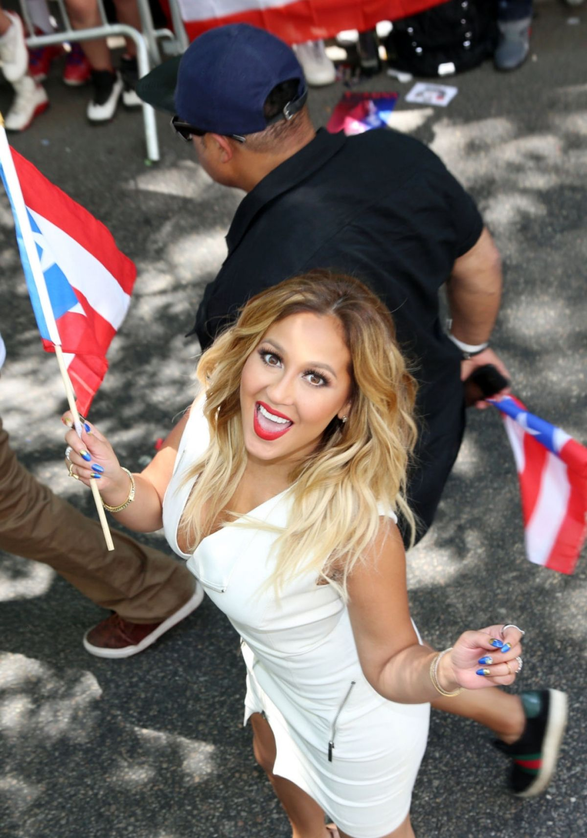 Adrienne Bailon At 2014 Puerto Rican Day Parade In Ny Celebzz
