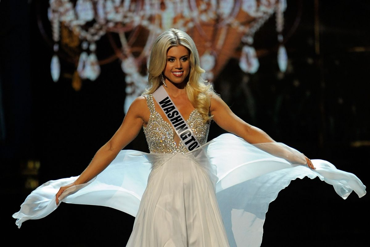 Allyson Rowe At Miss USA Preliminary Competition