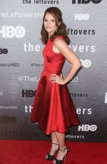 "Amy Brenneman At ""The Leftovers"" Premiere In New York City"