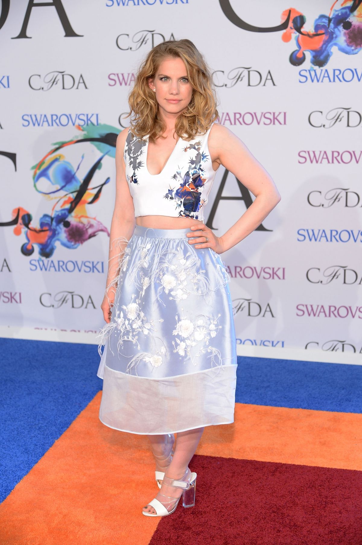 Anna Chlumsky At 2014 CFDA Fashion Awards