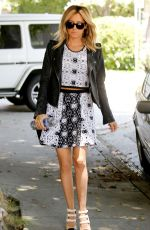 Ashley Tisdale At A Meeting In West Hollywood