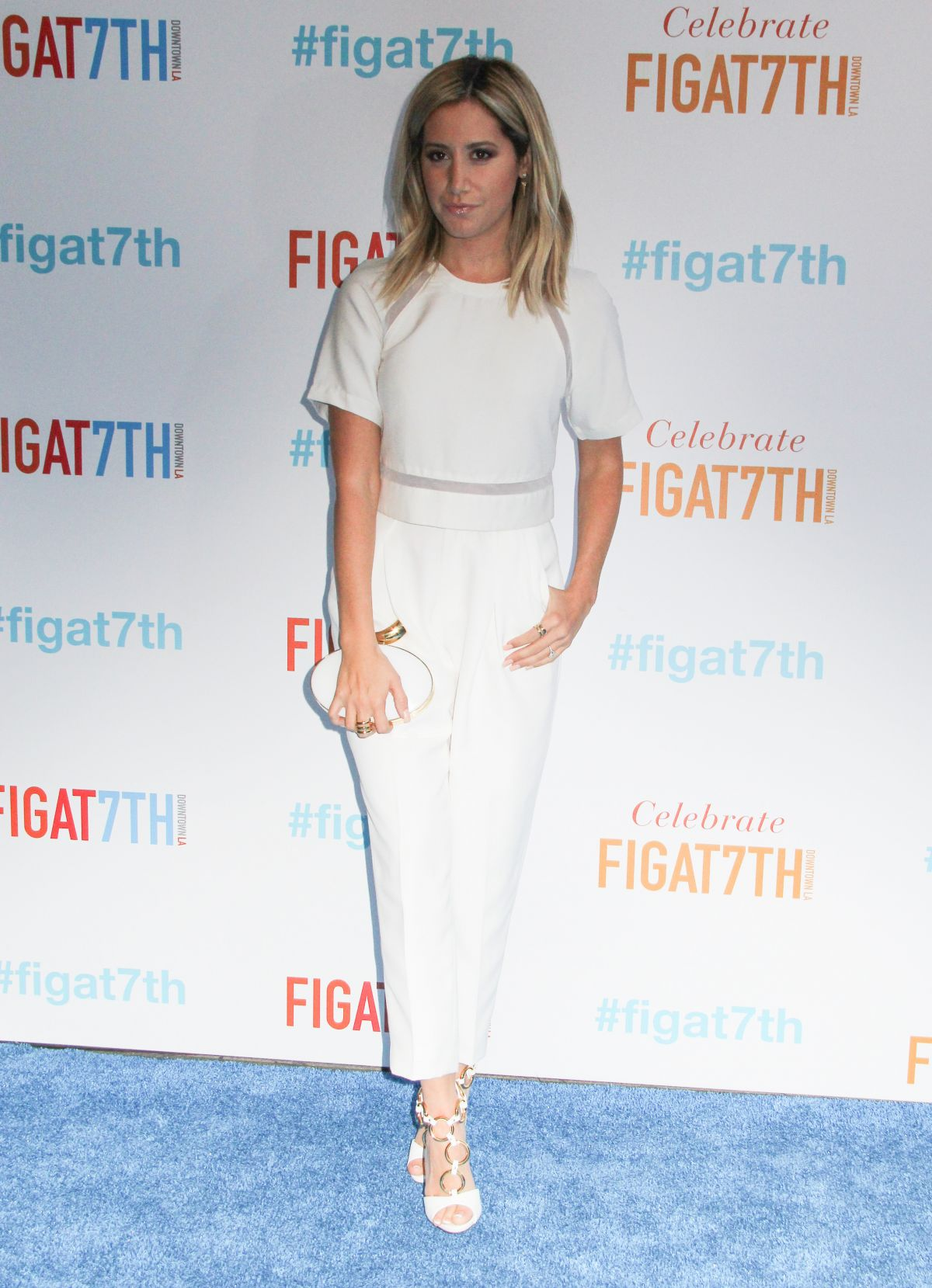 Ashley Tisdale At Grand ReOpening Of FIGat7th