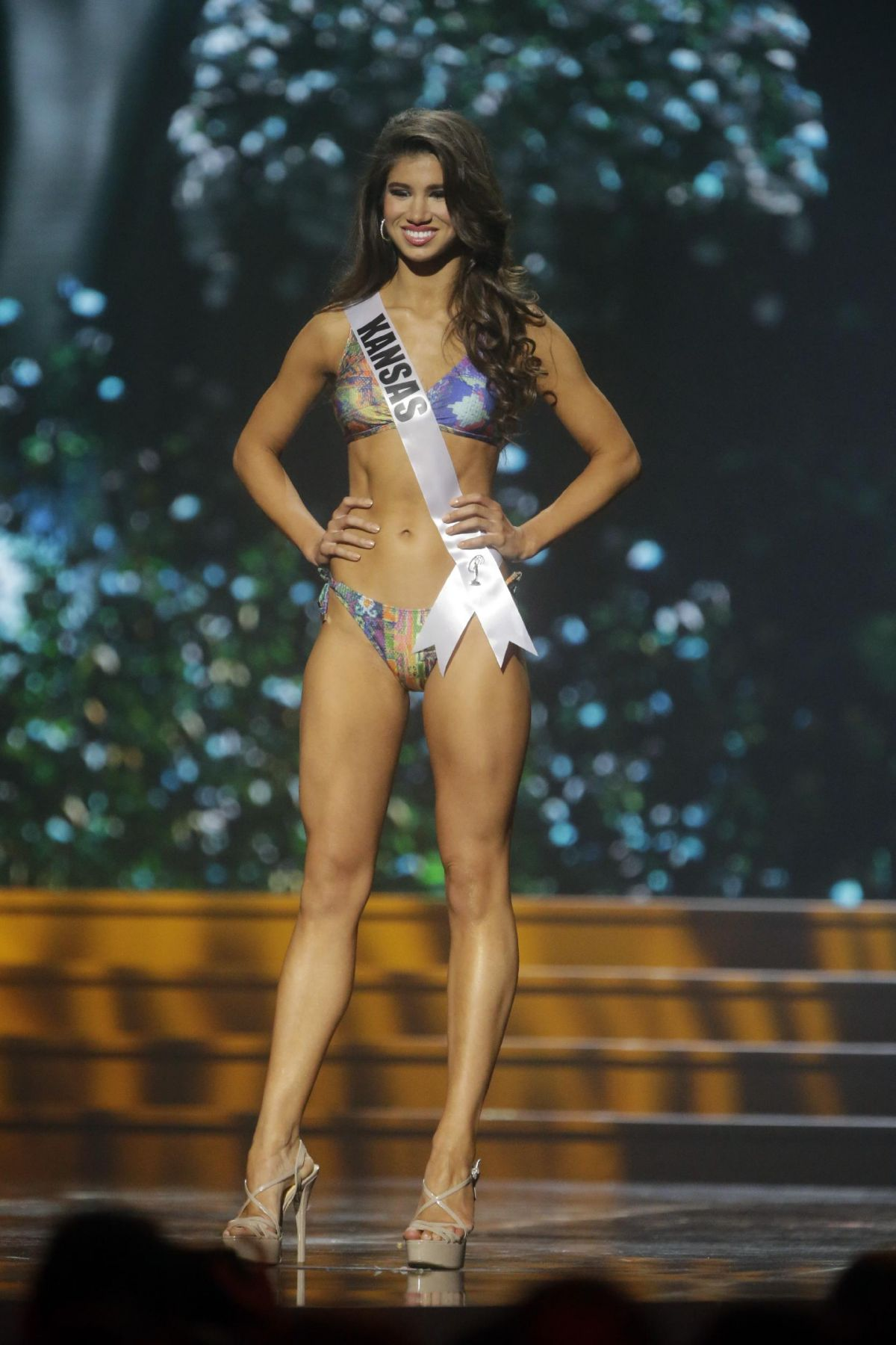 Audrey Banach At Miss USA Preliminary Competition