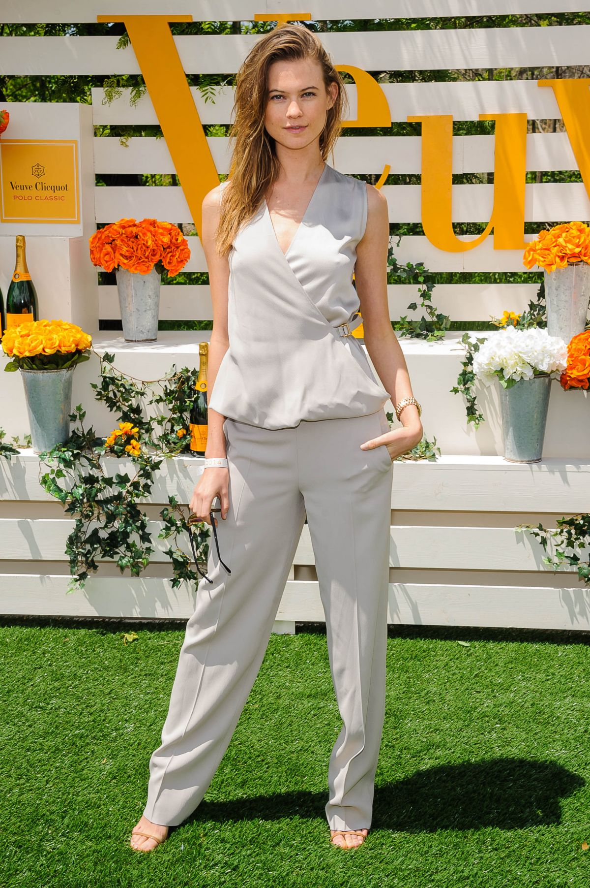 Behati Prinsloo At The Seventh Annual Veuve Clicquot Polo Classic In Jersey City