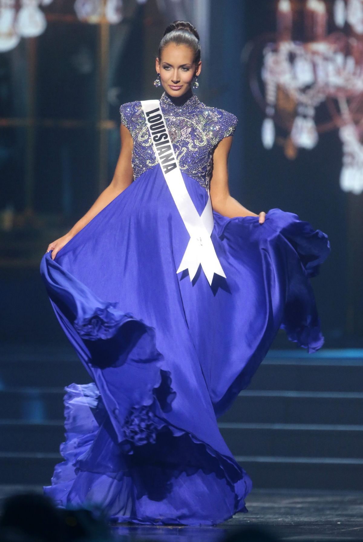 Brittany Guidry At Miss USA Preliminary Competition