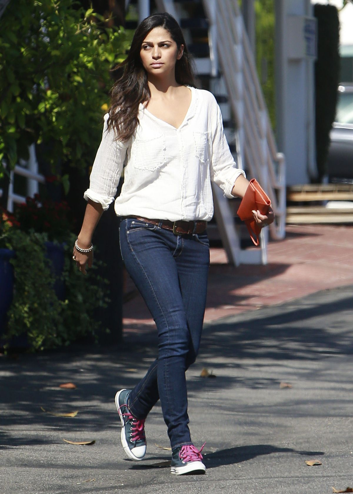 Camila Alves Out And About In West Hollywood