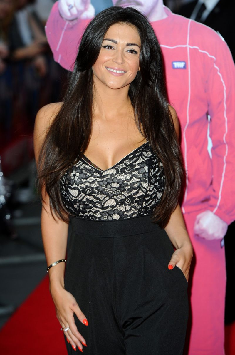 Casey Batchelor At UK Premiere Of 'The Hooligan Factory