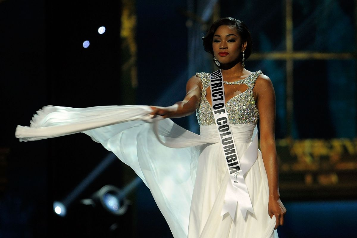 Ciera Nicole Butts At Miss USA Preliminary Competition