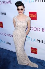 Dita Von Teese At 2014 Hollywood Bowl Opening Night & Hall Of Fame Inductions