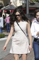 Emmy Rossum At The Grove In LA
