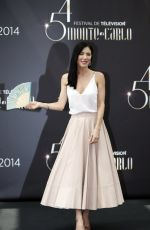 Jaime Murray At Defiance Photocall At The 54th Monte Carlo TV Festival In Monaco