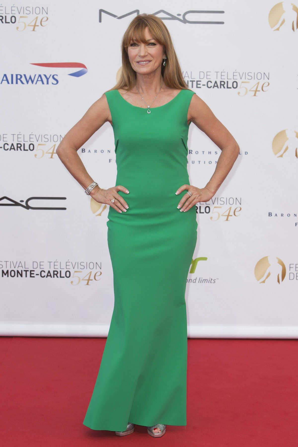 Jane Seymour At Opening Ceremony Of The 54th Monte Carlo TV Festival