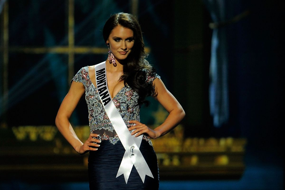 Kadie Latimer At Miss USA Preliminary Competition