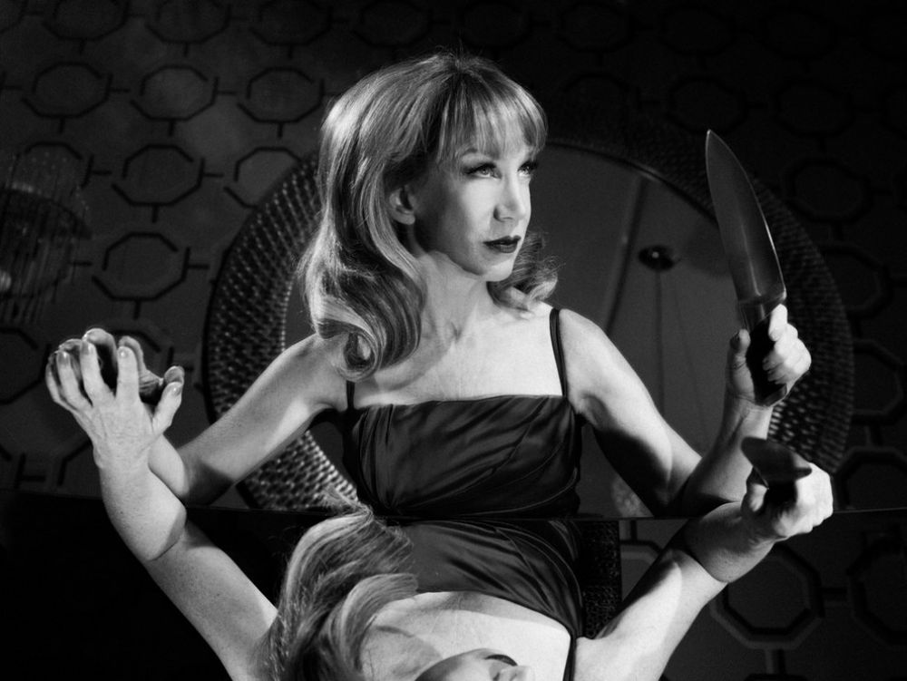 Kathy Griffin At Tyler Shields Photoshoot July 2014