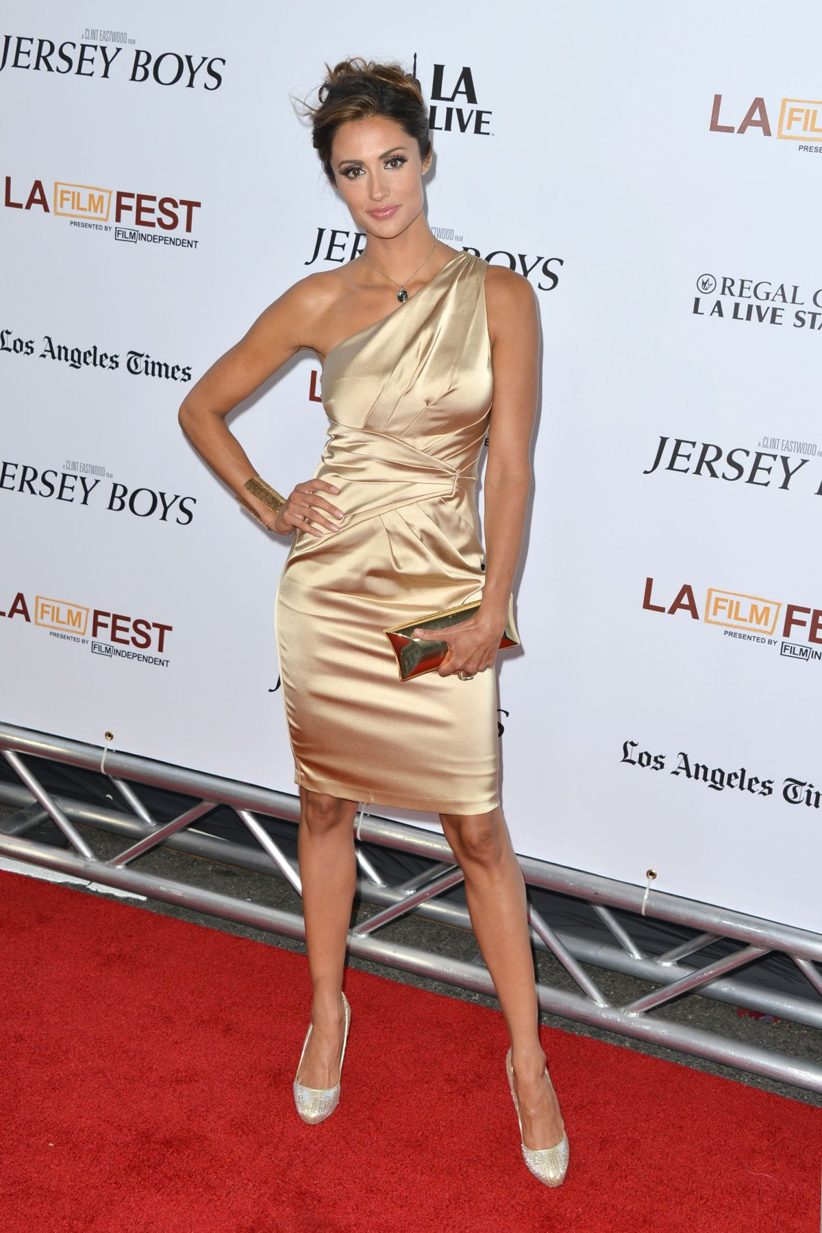 """Katie Cleary At """"Jersey Boys"""" Premiere In LA"""