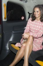 Pippa Middleton Seen Leaving The Dorchester Hotel In London