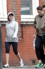 Scarlett Johansson Out And About In London