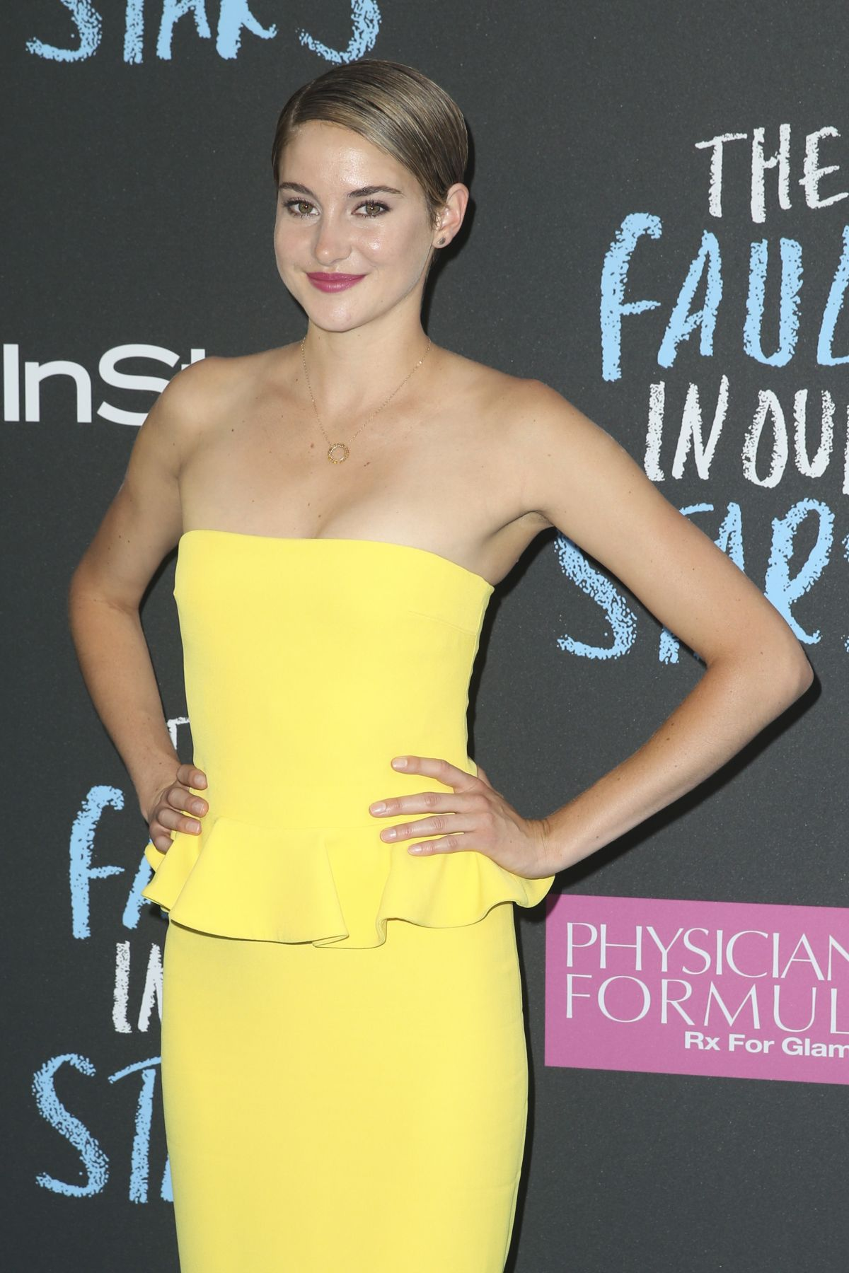 Shailene Woodley At The Fault In Our Stars Premiere In NY ...
